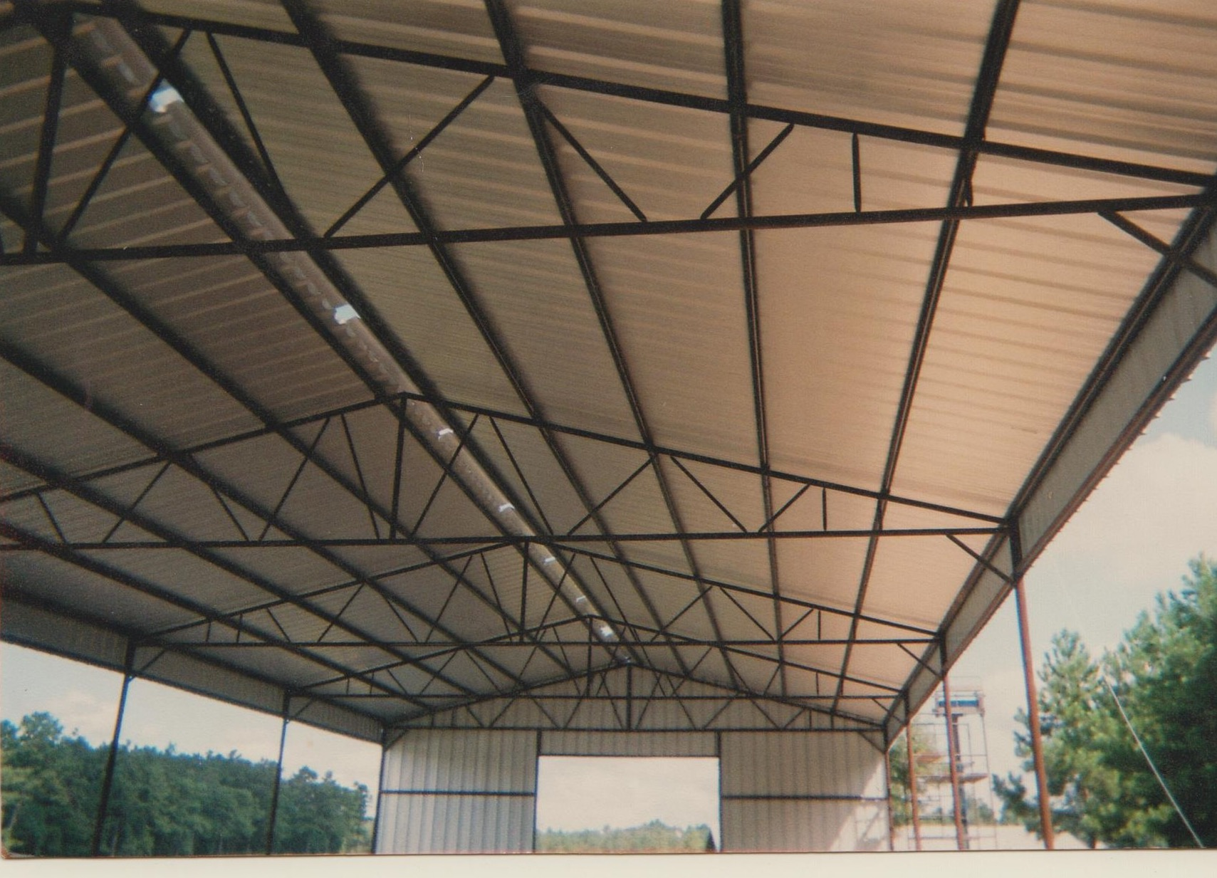 The pipe shop inc kentwood la 70444 products pole barns for Large pole barn